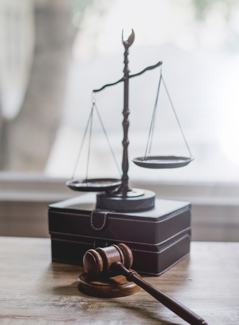 law firm scales statue